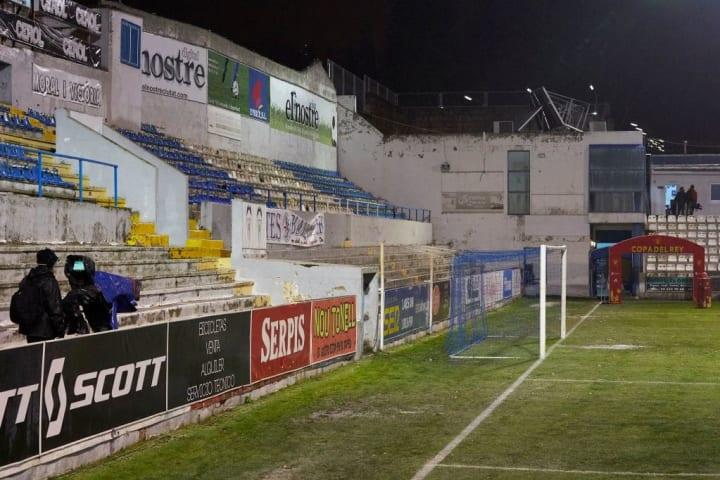 Alcoyano v SD Huesca - Copa del Rey