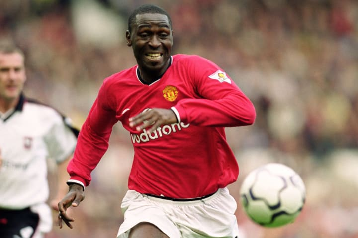 Three of Andrew Cole's Boxing Day goals came while he was at Manchester United
