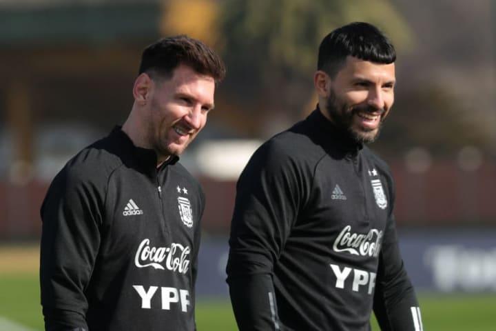 Argentina Training Session - Copa America 2021