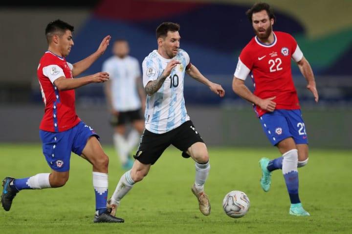 Tomas Alarcon, Ben Brereton, Lionel Messi