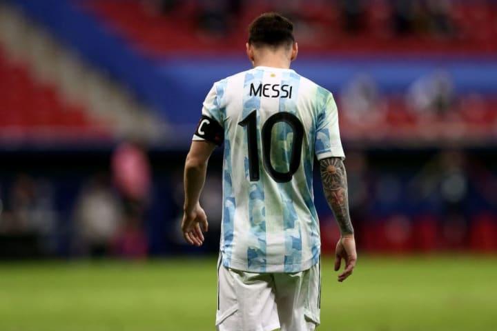 Argentina v Colombia: Semifinal - Copa America Brazil 2021