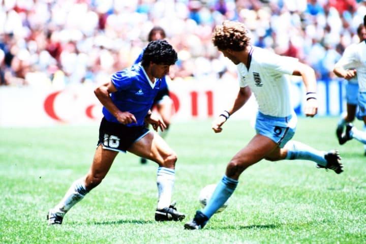 Diego Maradona, Terry Butcher