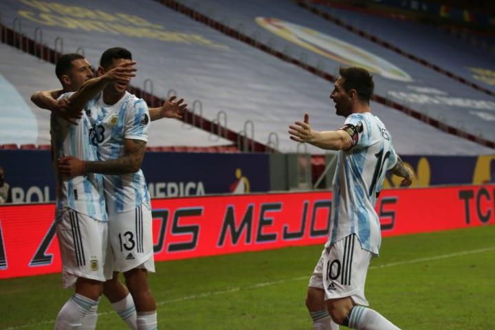 Messi and Romero on international durt