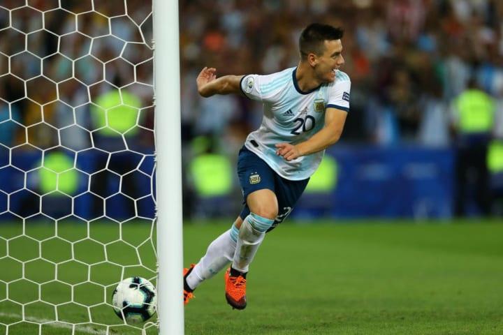 Giovani Lo Celso Argentina Copa América Meia