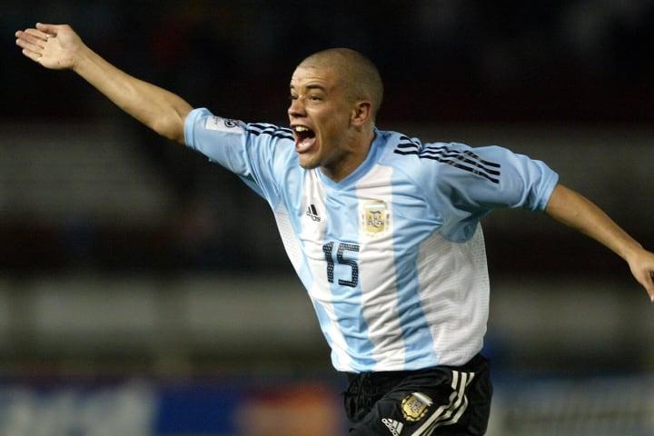 Argentinean Andres D'Alessandro celebrat