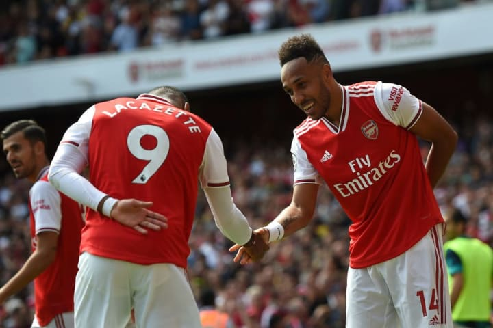 Lacazette and Aubameyang have struck up a strong bond on and off the pitch