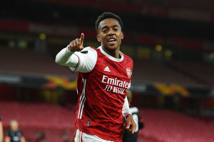 Joe Willock recorded two assists