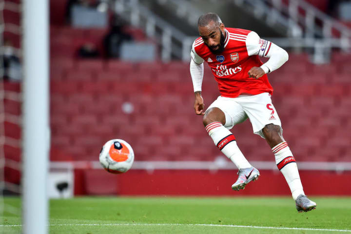 Lacazette has returned to form for the Gunners