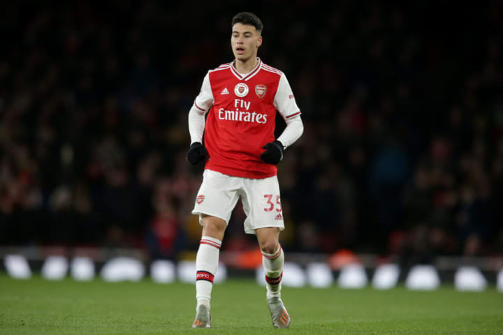 Martinelli impressed instantly at Arsenal