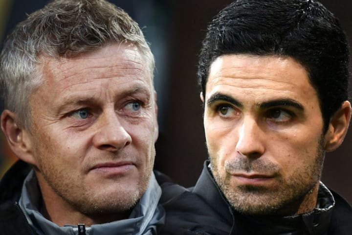 It will be a second meeting between Arteta and Solskjaer