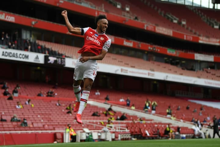 Aubameyang is back among the goals for the Gunners