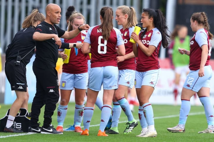 Aluko's original goal was to keep Aston Villa in the WSL and that was achieved on the final day of the season