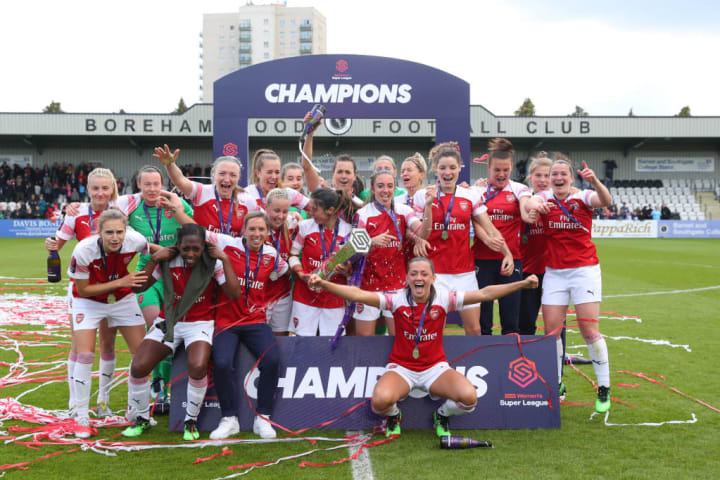 Montemurro guided Arsenal to the WSL title in 2018/19