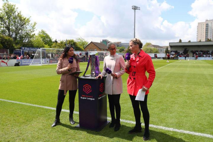 Reshmin Chowdhury, Rachel Brown-Finnis, Rachel Yankey