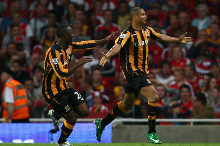 Hull recorded a particularly famous victory over Arsenal