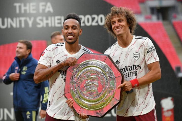 Pierre-Emerick Aubameyang, David Luiz