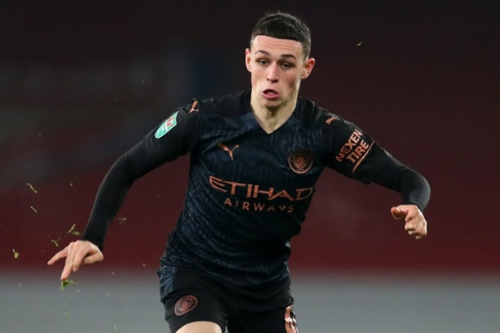 Foden will be hoping for some Premier League minutes