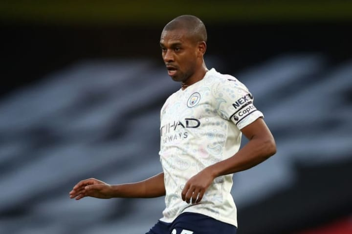Fernandinho hasn't been a regular in the City side this campaign