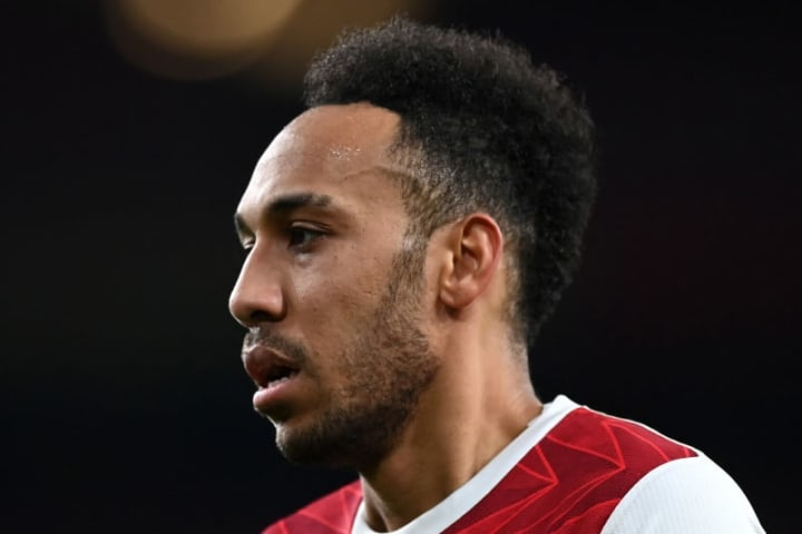 Aubameyang was guilty of spurning a number of opportunities in the first leg