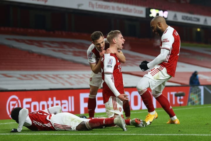 Arsenal struck late to beat Newcastle in the FA Cup a little over a week ago