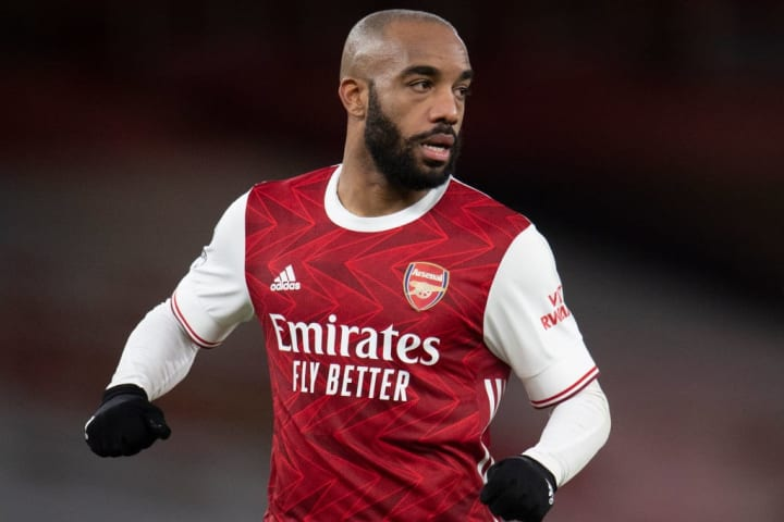Lacazette's form has been up and down this season, raising questions about his long-term suitability to the role.