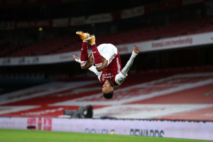 Aubameyang was irreplaceable during his first two full seasons with Arsenal