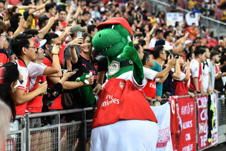 Gunnersaurus is surplus to requirements while stadiums are closed