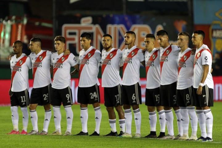 River Plate Nacho Fernández Libertadores Potes Sorteio Grupo Atlético-MG