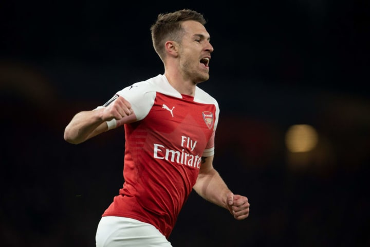 Aaron Ramsey was a household name at Arsenal
