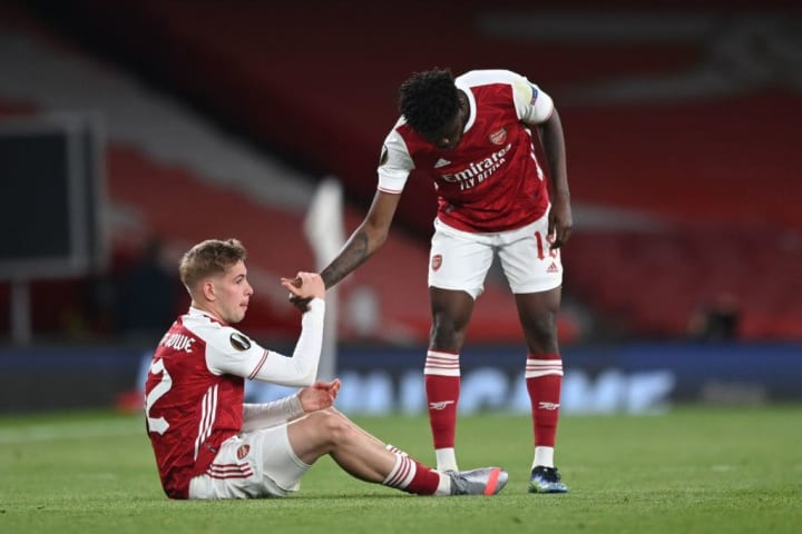 Arsenal are reeling from Europa League semi-final heartbreak