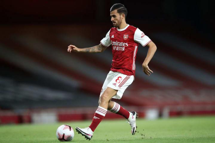 Ceballos has just begun his second year on loan at Arsenal