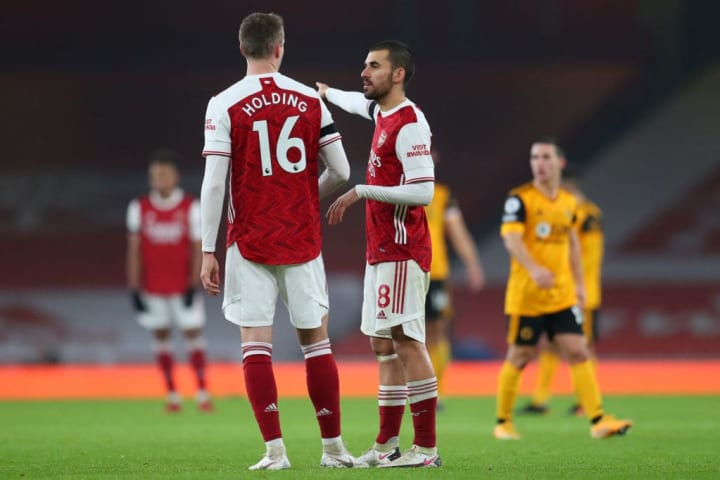 Arsenal's Premier League loss to Wolves was their third in a row at the Emirates