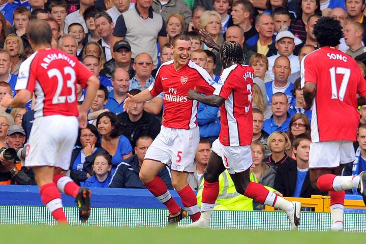 Arsenal's Belgian defender Thomas Vermae