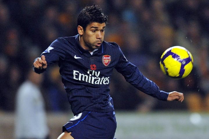 Eduardo's time at Arsenal was injury hit
