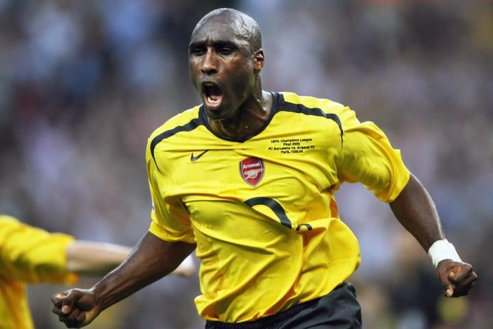 Arsenal's English defender Sol Campbell