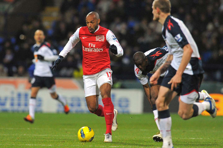 Arsenal's French striker Thierry Henry (