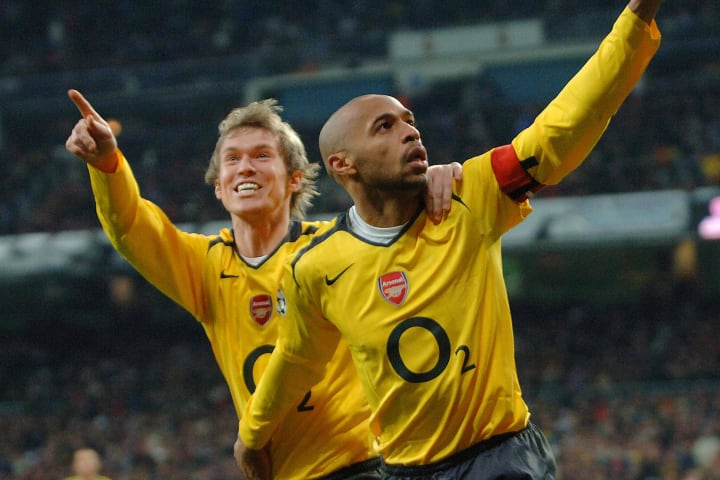 Thierry Henry scored an iconic goal for Arsenal at the Bernabeu
