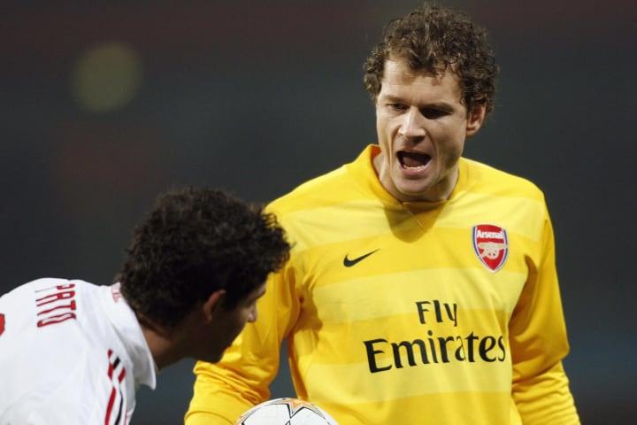 Arsenal's German goalkeeper Jens Lehmann
