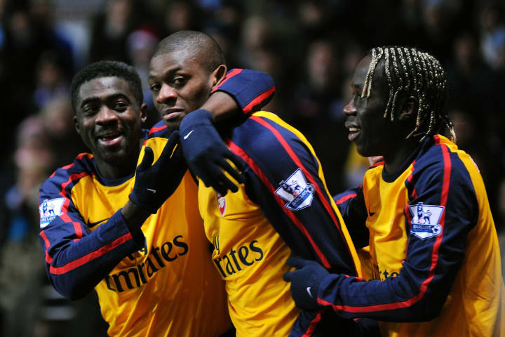 Abou Diaby helped finish of a brilliant team move