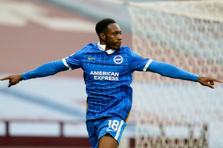 Danny Welbeck opened the scoring for the Seagulls