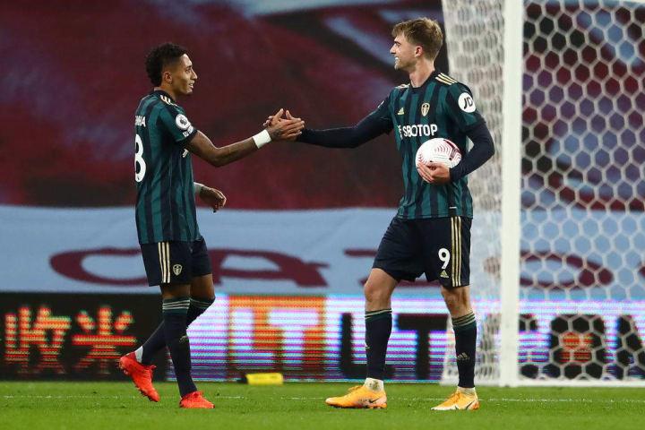 Bamford grabbed a hat-trick against Villa