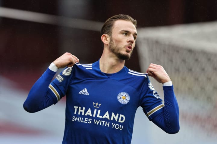 Maddison scored Leicester's opener