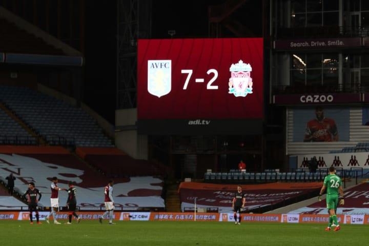 Aston Villa v Liverpool - Liga Premier