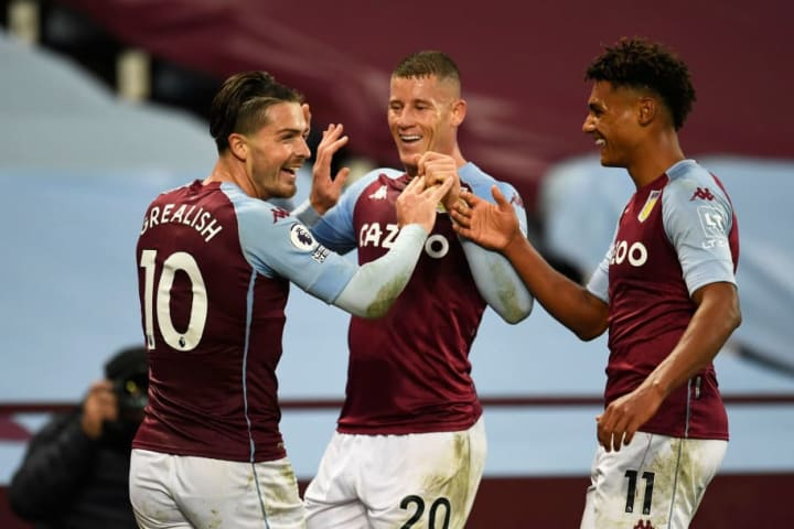 Aston Villa's 7-2 win over Liverpool was one of their 2020 highlights