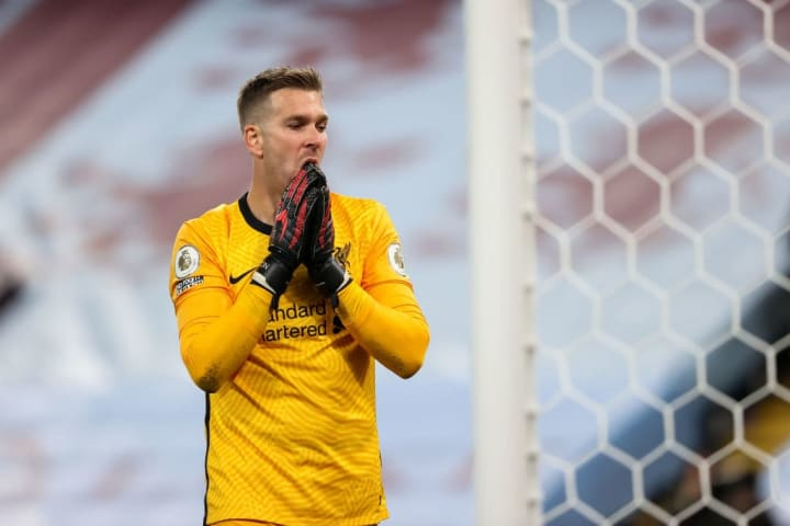 Adrian came under fire for his performance against Aston Villa
