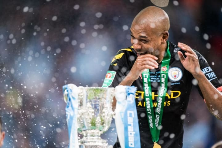 Fernandinho has won a host of domestic honours since joining City