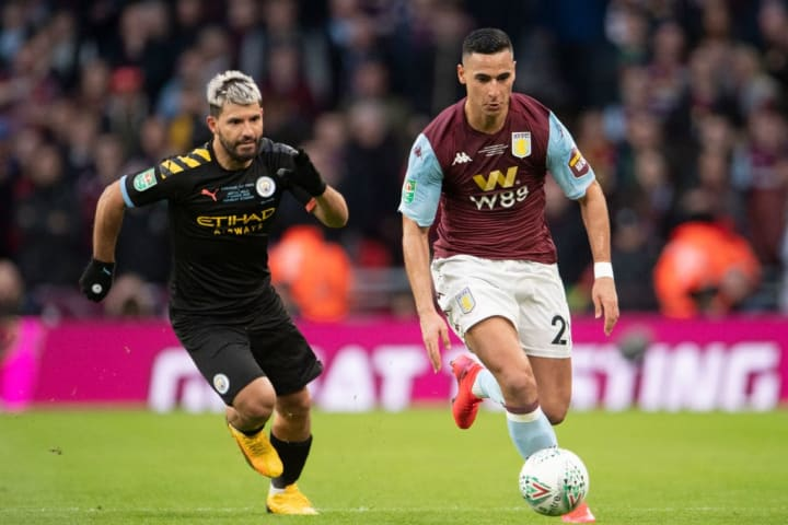 Aston Villa took on Manchester City in this year's EFL Cup final