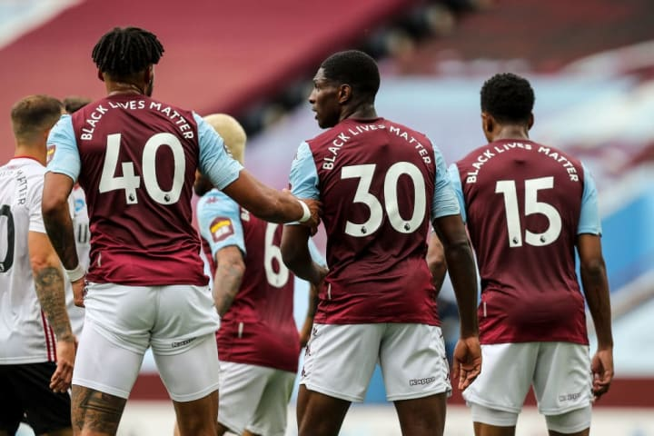 'Black Lives Matter' will be on the back of each player's shirt for the first 12 restarted Premier League games