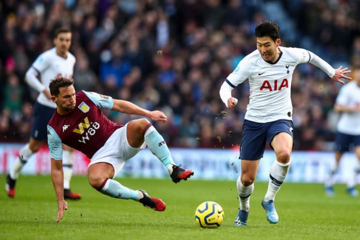 Danny Drinkwater, Son Heung-min