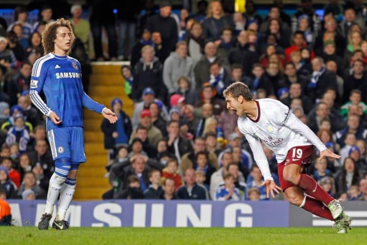 Aston Villa's Bulgarian midfielder Stili